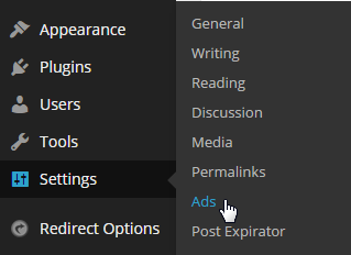 setting ads by datafeedr.com