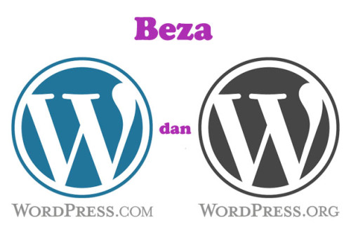 beza wordpress.com dan wordpress.org