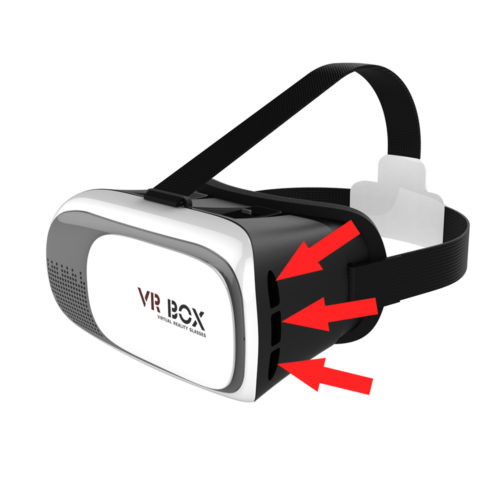 headphone vr box