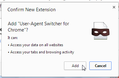 add extension chrome
