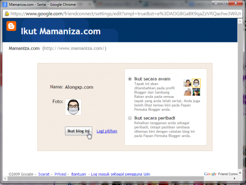 follow mamaniza.com