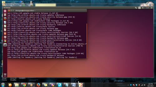 ubuntu dalam windows