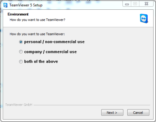 teamviewer personal use