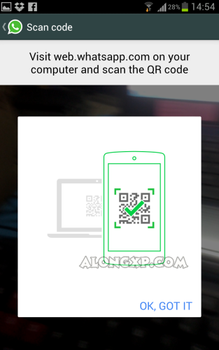 scar bar code whatsapp
