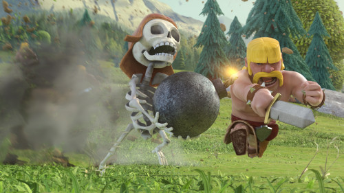 wallpaper clash of clans 3