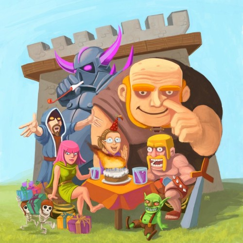 wallpaper clash of clans 8