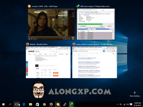 task view review windows 10
