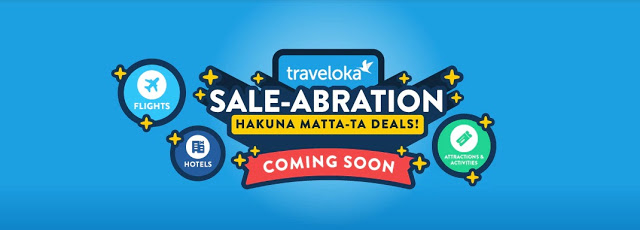 traveloka saleabration
